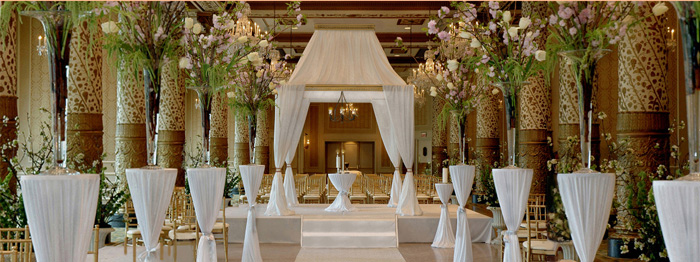 Chicago Wedding Decorator, Wedding Rentals, Chicago Floral Design